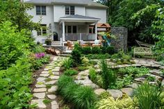 14 Clever Landscape Design Plans and Improvements for a Small Backyard - Simphome Garden Design Plans, Landscape Design Plans, Home Garden Design, Diy Garden, Shade Garden, Spring Garden, Landscape Architecture, Small Backyard Design, Backyard Plan