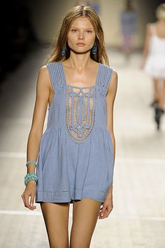 Isabel Marant crochet dress I cannot get enough of this designer!