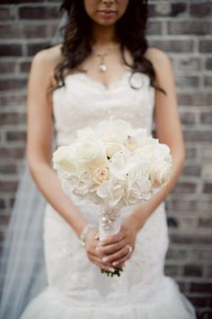 #white #blush #bridal #bouquet #wedding @Melissa Squires Squires Gidney