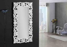 Miroirs Vestiaire Classiques : Modèle GORGIAS Blanc