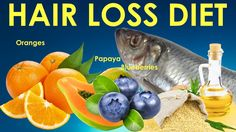 Hair Loss Diet - Decrease and stop hair loss in men and women with the r...