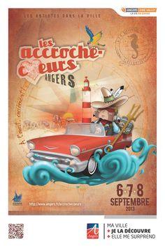 Festival des Accroche-coeurs édition 2013, du 6 au 8 septembre.