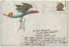 neumeyer gorey | edward gorey # peter f neumeyer # letter # illustration