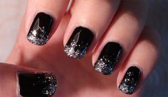 As we're putting the final touches on our New Year's Eve ensembles, we want to ensure our tips and toes are primed for 2013. In honor of the upcoming celebration, we've found some of the coolest manicure concepts to rock when the ball drops.If you're looking to add a chilly effect to y