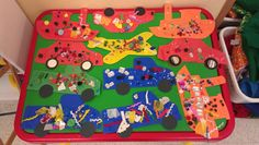 Transportation Vehicle Collage (from Preschool Ideas for 2 Year Olds)