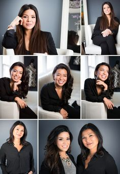 Character-filled, personalized, unique environmental headshots / portraits for beauty professionals. Warm and inviting.