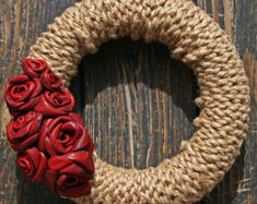 Wreath Shell Wreath Sea Shell Wreath by DyJoDesigns on Etsy