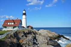 See 6 Lighthouses Near Portland, Maine: Portland Head Light will be one of the most memorable stops on your Maine lighthouse tour.