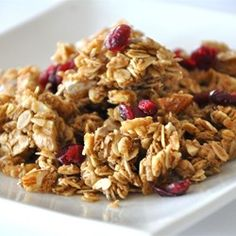 Breakfast And Brunch, Megans Granola, My Daughter And I Came Up With This Recipe And It Is Absolutely Wonderful. I'Ve Tried Many Granola Recipes And This Tops Them All. Megan's Granola Recipe, Sin Gluten, Gluten Free, Dairy Free, Best Granola, Granola Bars, Granola Clusters, Vegan Granola, Crunchy Granola
