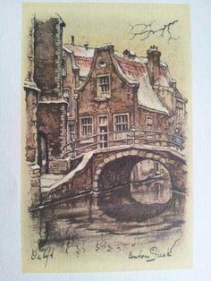 Delft, Anton Pieck
