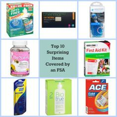 FSA Blog   Surprising items that are covered by a Flexible Spending Account