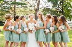 Chic Mint and Blush Wedding