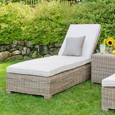 Garden Cottage - Kingsley Bate Sag Harbor Adjustable Chaise Lounge w/ Wheels, $1,325.00 (http://www.gardencottage.com/sag-harbor-adjustable-chaise-lounge-w-wheels/)  w cushion