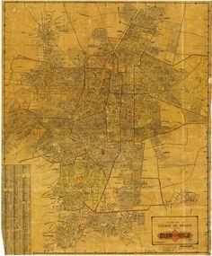 Ciudad de México en 1943 en la guía Roji