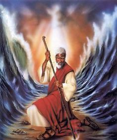 African American Moses art | I will part the sea for you!