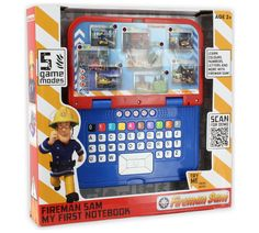 Buy Fireman Sam My First Notebook at Argos.co.uk, visit Argos.co.uk to shop online for Electronic books, Electronic books and accessories, Electronic toys, Toys