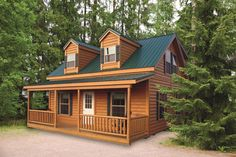 The Lanier is a beautiful cabin that you can make your reality!    http://www.woodtex.com/cabins.asp