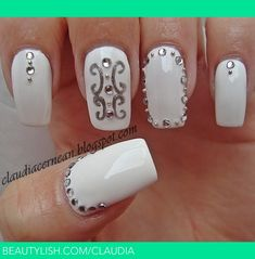 Nail Obsession: White Nail Polish and Nail Designs | Le Belle Amour