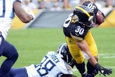 0a99b8c0ba8 Pittsburgh Steelers  Le Veon Bell a no-show James Conner to start Football