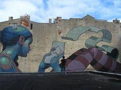 by ARYZ en Polonia [street art, graffiti]