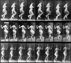 Left Foot Hop © Eadweard Muybridge, www.lumas.com