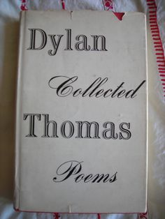 Dylan Thomas poetry.    Fern Hill sticks in my heart- I love that poem...