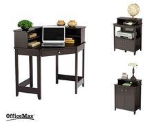 Office Max Corner Desk Glass Corner Desk, Corner Writing Desk, Small Corner  Desk,