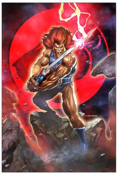 Thundercats - Lion-O by Dave Wilkins and Joaquim Dos Santos *