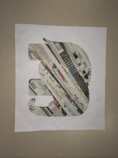 Knutselen met krantenpapier