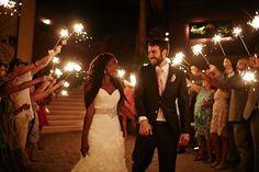 Beautiful interracial couple at their amazing wedding celebration #love #wmbw #bwwm