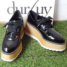 durbuy 2014 A/W - 3 HALL EYELET SHOES WIDE SHOE LACE HIGH