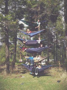 hammocking to the max