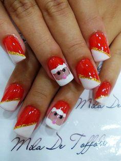 Unhas De Toffoli CHRISTMAS #nail #nails #nailart