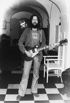 Eric Clapton City Slickers t-shirt from the Duane Allman now famous trade