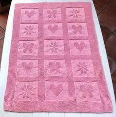 copertina neonato   Hobby lavori femminili - ricamo - uncinetto - maglia