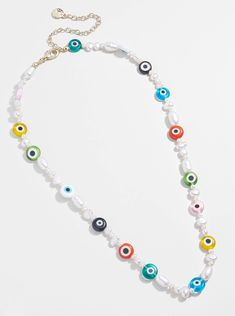 Making Bracelets With Beads, Diy Jewelry Necklace, Beaded Bracelets Tutorial, Cool Necklaces, Necklace Designs, Handmade Bracelets, Beaded Jewelry, Beaded Necklaces, Jewellery