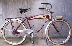 Look Bicycles, Bike With Sidecar, Cafe Racer Leather Jacket, Antique Bicycles, Cruiser Bicycle, Vintage Bicycles, Vintage Fashion, Vintage Style, Custom Bikes