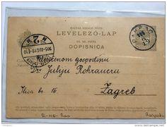 CROATIA  PAKRAC  1905          old postcard