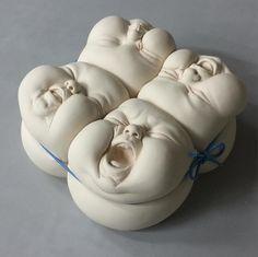 Sculpture by Johnson Tsang