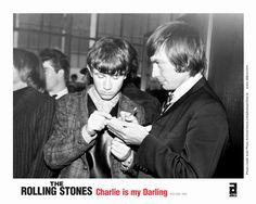"""Charlie Watts, baterrista de los Rolling Stones, en la película """"Charlie Is My Darling""""."""