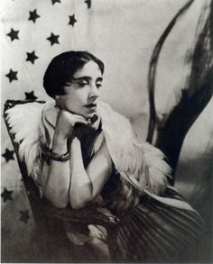 Elsa Schiaparelli, 1935 by Cecil Beaton. (1890–1973) was an Italian fashion designer. Along with Coco Chanel, her greatest rival, she is regarded as one of the most prominent figures in fashion between the two World Wars.[1] Starting with knitwear, Schiaparelli's designs were heavily influenced by Surrealists like her collaborators Salvador Dalí and Alberto Giacometti. Her clients included the heiress Daisy Fellowes and actress Mae West.