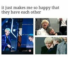 Taekook as well Taehyung can get along with anybody it's heartwarming