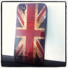 Capa Rígida Bandeira do Reino Unido para iPhone 4/4S