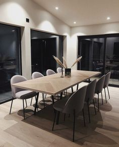 """INTERIOR PORN on Twitter: """"The interior of this home is PERFECT.… """" Home Room Design, Dream Home Design, Dining Room Design, Home Interior Design, House Design, Apartment Interior, Living Room Interior, Home Living Room, Living Room Decor"""