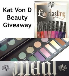 Thankful for You: Kat Von D Beauty Giveaway