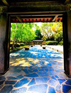 Zen Garden, Japanese Garden, The Huntington Library, and Botanical Gardens, Pasadena  CA