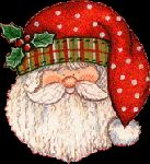 """In Spain, Santa Claus is called """"Papá Noel"""" and he gaves gifts on of December at night. Christmas Rock, Christmas Projects, Holiday Crafts, Vintage Christmas, Christmas Holidays, Christmas Decorations, Christmas Ornaments, Xmas, Merry Christmas"""