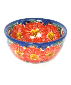 Take a look at this Red Unikat Dessert Bowl by European Design Imports on #zulily today!  http://www.zulily.com/invite/Zulily20Store