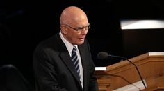 Funeral Services on Temple Square Honor President Boyd K. Packer. Elder Dallin P. Oaks