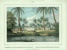 Bantam Ancient Ruins ( Van der Velde 1844 )